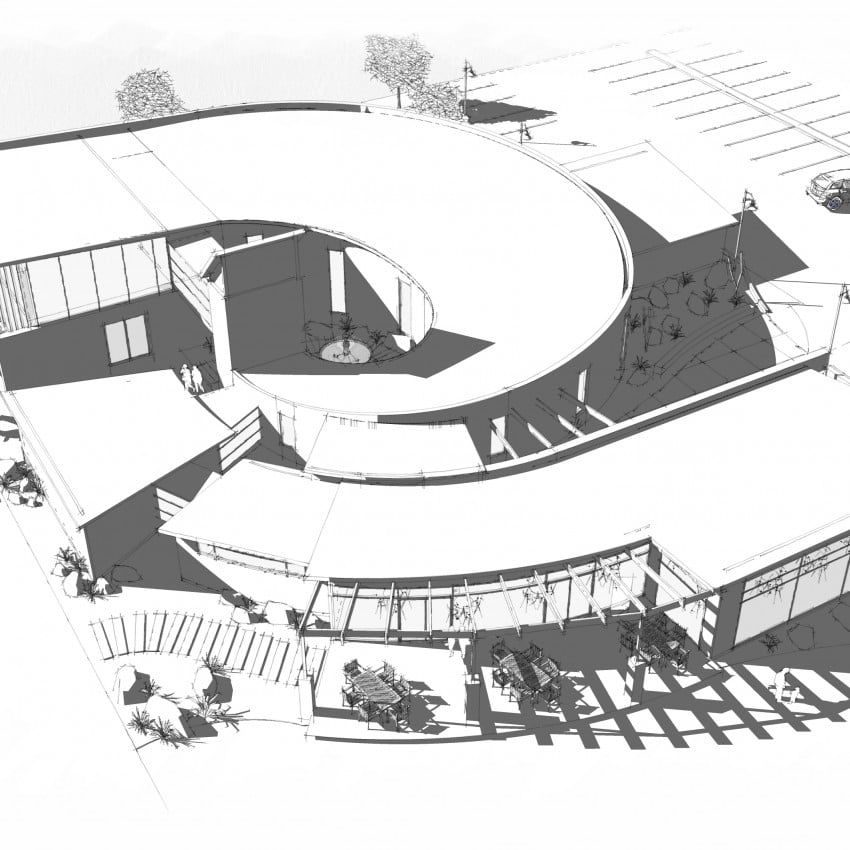 Jet Boat Museum commercial architecture