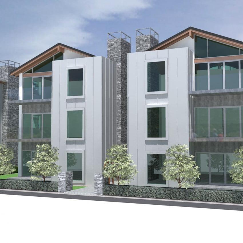 Salisbury Apartments Christchurch architecture