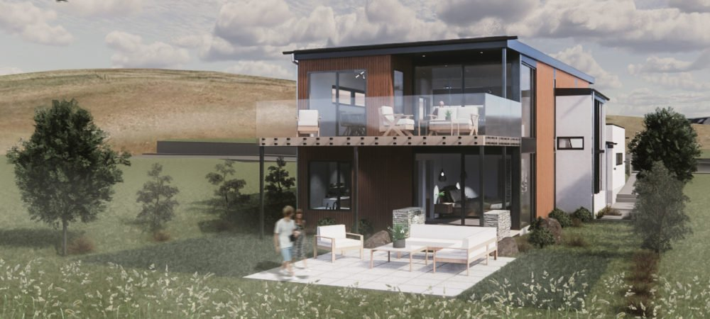 Lot 122 - The Heights, Wanaka architecture